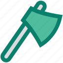 ax, axe, construction, cutting tool, hand tool, work tool icon