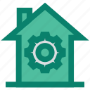 building, construction, gear, home, house, hut, real estate