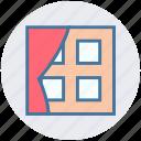 building, casement, house, utensils, window, construction, structure