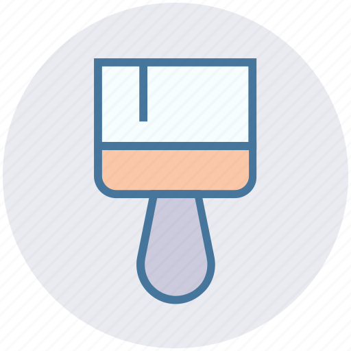 brush, construction, paint, paint brush, painting, wall paint icon