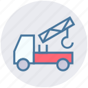 concrete bulldozer, construction, construction truck, lifter, truck, vehicle icon