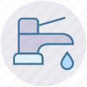 construction, faucet, nal, plumbing, sink, spigot icon