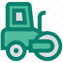 construction, farm tractor, farm vehicle, tractor, transport, vehicle