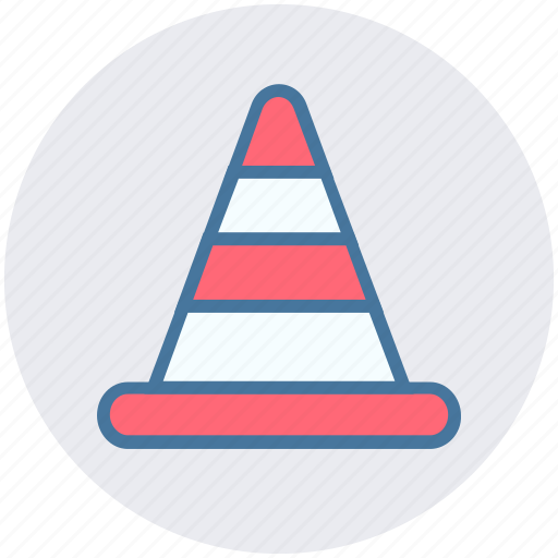 cone pin, construction, construction cone, road cone, traffic cone, traffic cone pin icon