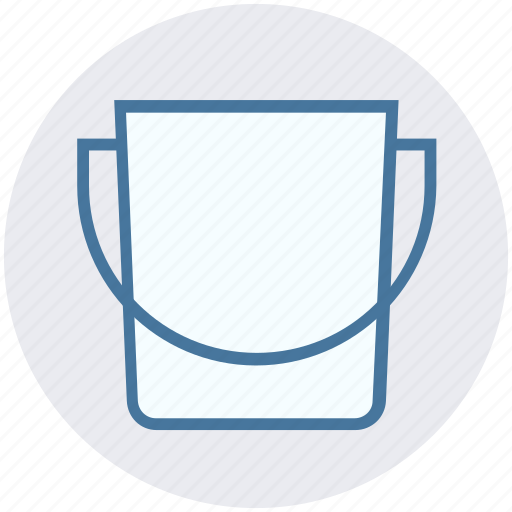 Bucket, construction, pail, paint bucket, wall painting icon - Download on Iconfinder