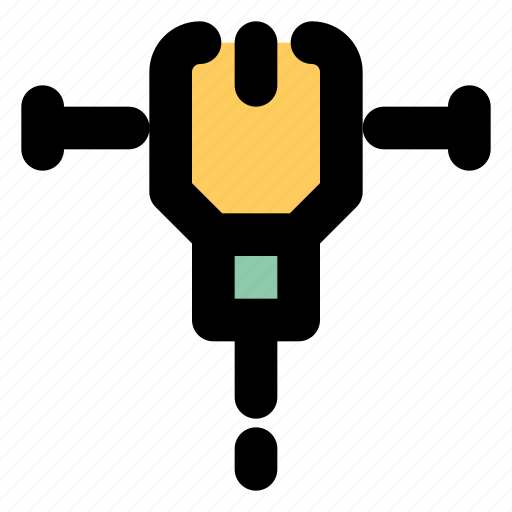 Impact drill, drill, machine icon - Download on Iconfinder