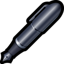 caligraphic, edit, pen, word, write icon