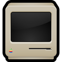 classic, computer, crt, macintosh, old icon