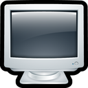 computer, crt, desktop, monitor icon