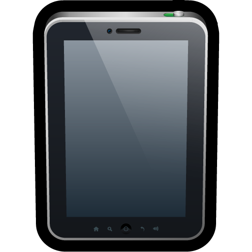 device, phone, reader, tablet, touch icon