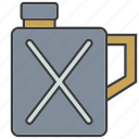 energy, gas, oil, petroleum, tank icon
