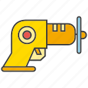 auger, awl, drill, driller, reamer, tool icon