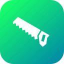 carpentry, cut, saw, timber, tool icon