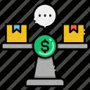 compare, prices, balance, scale