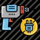 cordless, drill, tool