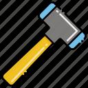 hand, tools, hammer
