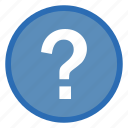 ask, ask question, question mark icon