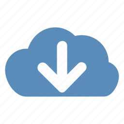 cloud, download, download from cloud icon