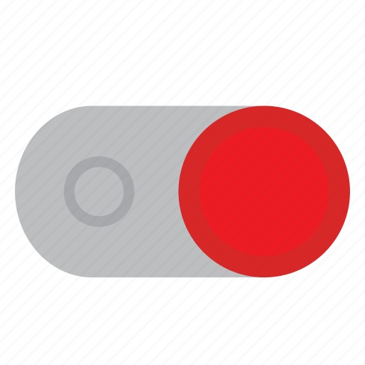off, on, power, switch, toggle icon