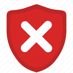 danger, defend, protection, safety, security, shield, warning icon