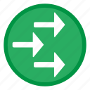 arrow, arrows, right icon