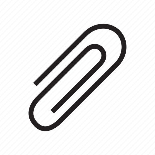 attach, clip, data, extension, file, format icon