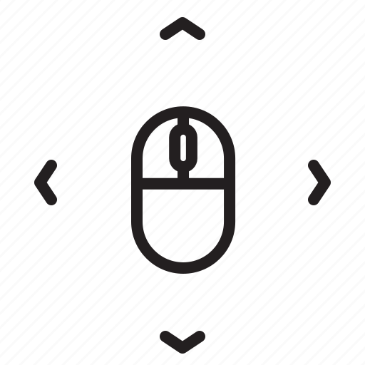 arrow, click, cursor, device, direction, mouse icon