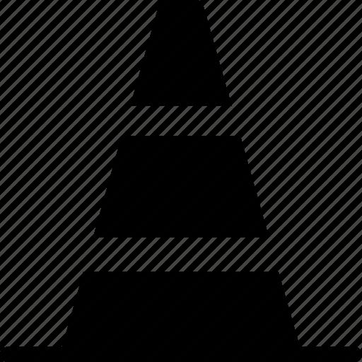 cone, construction, tool, utensils icon