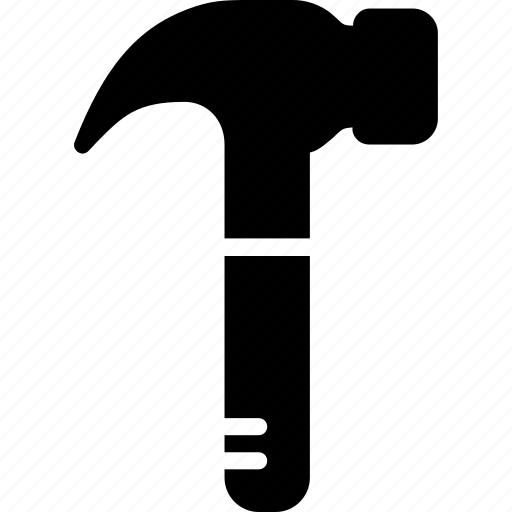 construction, hammer, tool, utensils icon