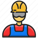 avatar, worker, user, man, profile, account, person