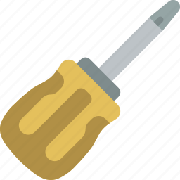 equipment, screwdriver, tool, tools, work icon