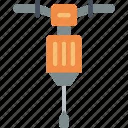 equipment, hammer, jack, tool, tools, work icon