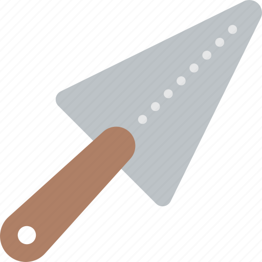 equipment, tool, tools, trowel, work icon