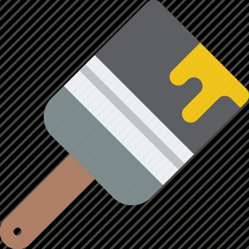 equipment, paintbrush, tool, tools, work icon