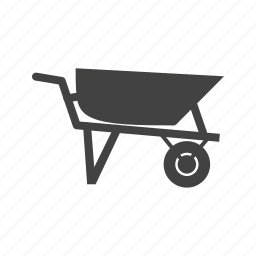 concrete, construction, loader, people, trolley, worker icon
