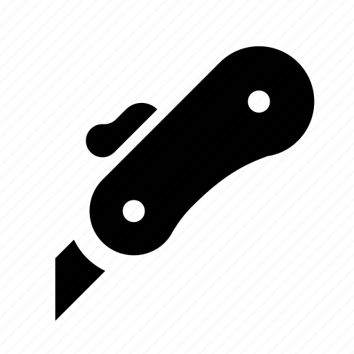 blade, box cutter, knife, razor, tool icon
