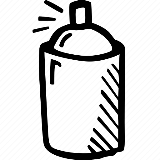 can, graffiti, painting, renovation, spray, tools, wall icon