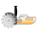 cut, electric, saw, machine, instrument, cutting, tools icon