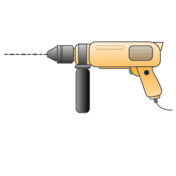drill, electric, instrument, repair, tool, tools icon