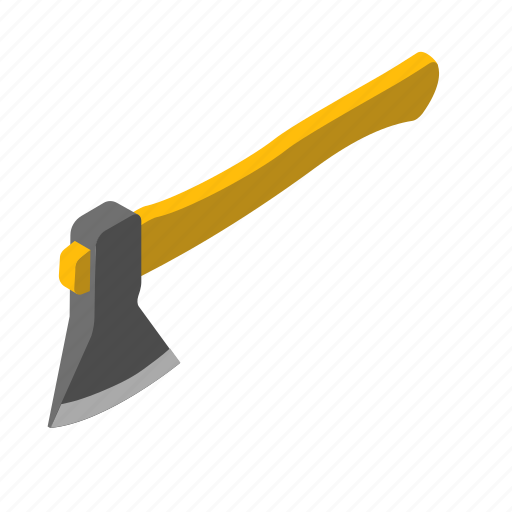 ax, axe, cleaver, hatchet, tool icon