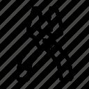 hardware, pliers, tool icon