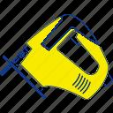 appliance, carpentry, construction, electric, equipment, jigsaw, thin
