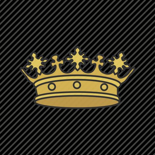 headress, king, monarchy, patriarchy, queen, royalty icon