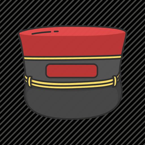 bellboy, bellboy cap, cap, hat, hote porter icon