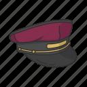bellboy, bellboy cap, bellhop, cap, hat, hotel porter icon
