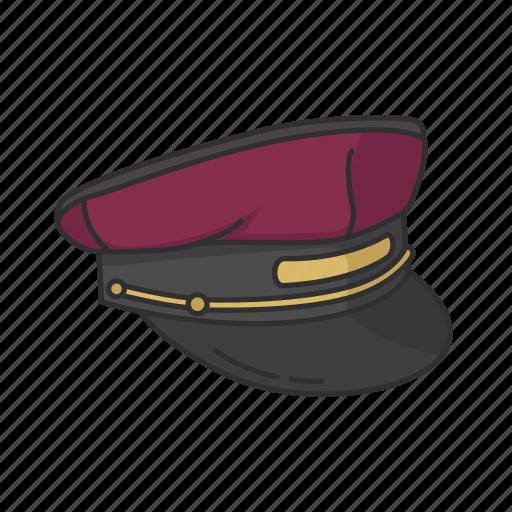Bellboy, bellboy cap, bellhop, cap, hat, hotel porter icon - Download on Iconfinder