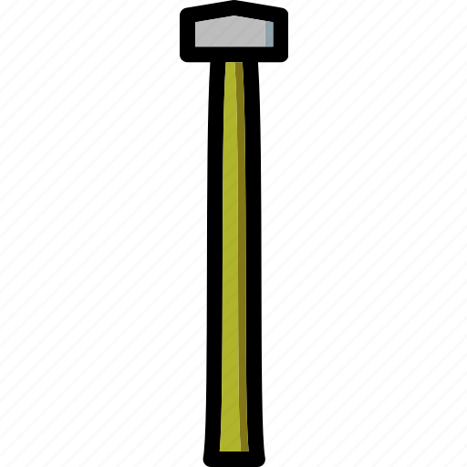 colour, hammer, sledge, tools, ultra icon