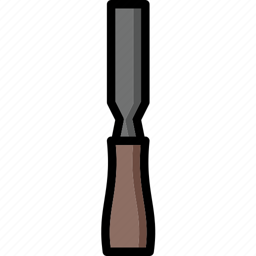 chisel, colour, tools, ultra icon