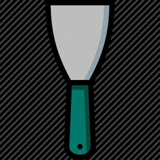 colour, scraper, tools, ultra icon
