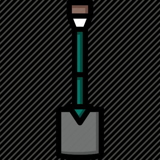 colour, spade, tools, ultra icon